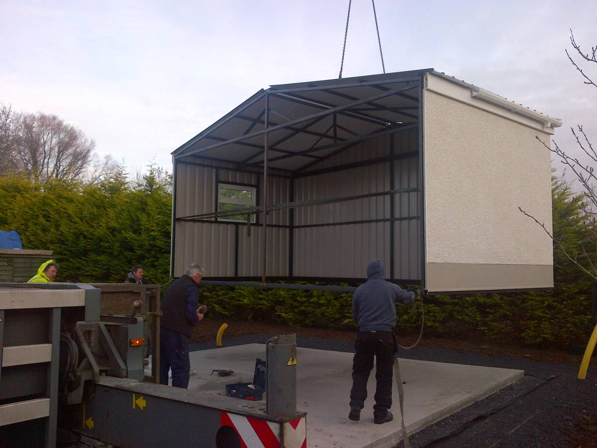 Project Gallery   Steel Sheds   Steel Garages Northern Ireland