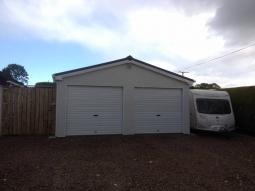Dash Finish Double Modular Integrated Garage