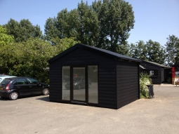 WeatherPlank Finish Modular Office