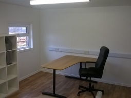 Internal of Modular Office