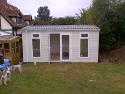 Canexel Finish Modular Sunroom