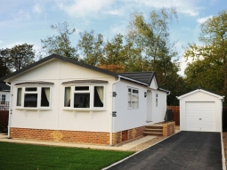 Roughcast Stipple External Finish Modular Garage