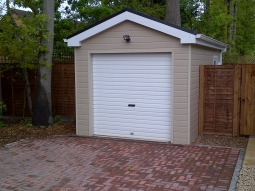 Canexel Finish Modular Garage