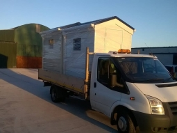 WeatherPlank Finish Modular Buildings being Transported