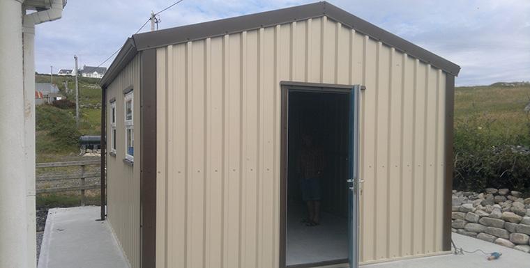 steel garden sheds steel sheds steel garages northern. Black Bedroom Furniture Sets. Home Design Ideas