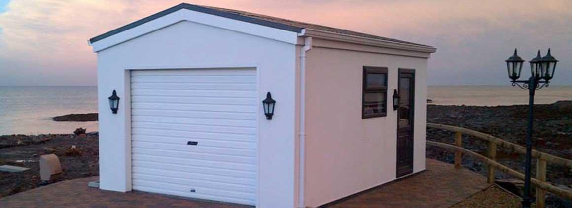steel sheds steel garages northern ireland garden. Black Bedroom Furniture Sets. Home Design Ideas