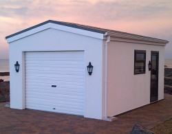 Modular Steel Framed Garage