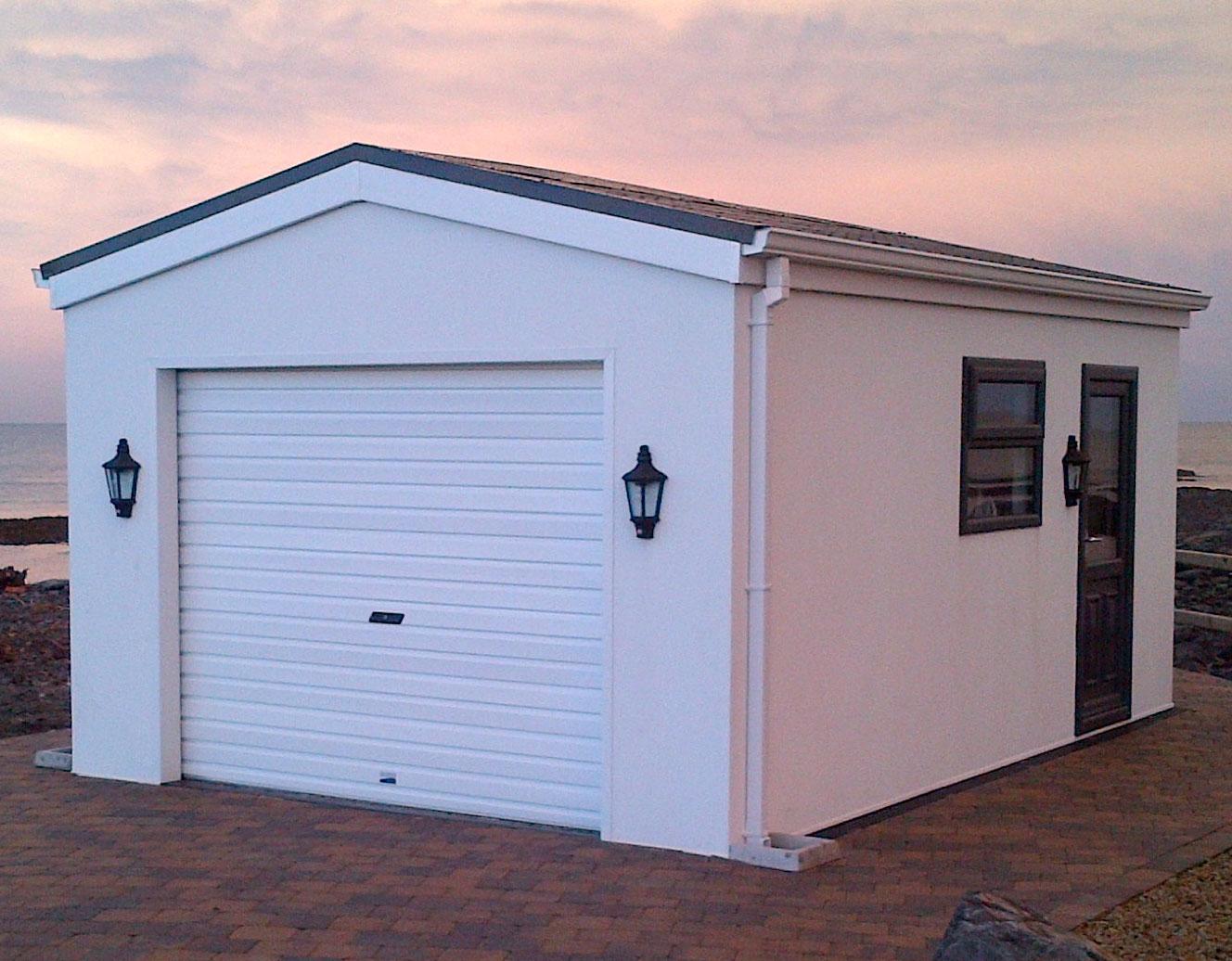 Modular garages ireland ppi blog for Prefab work shed