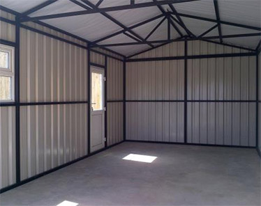 External Finishes Steel Sheds Steel Garages Northern