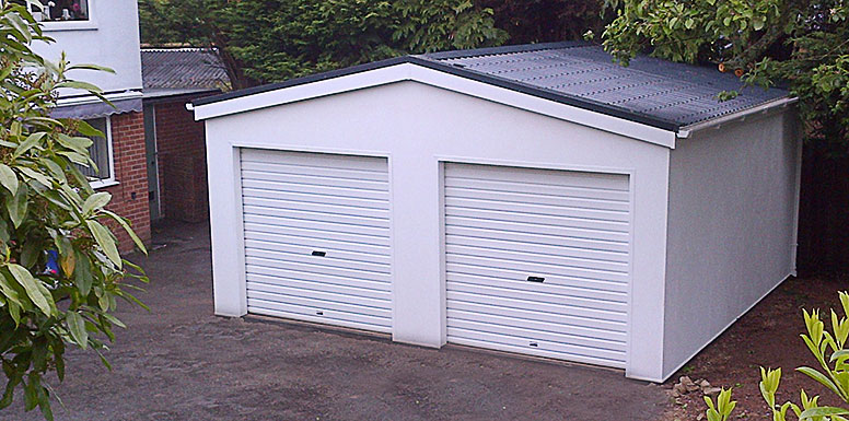 Modular Garages, matched to your home